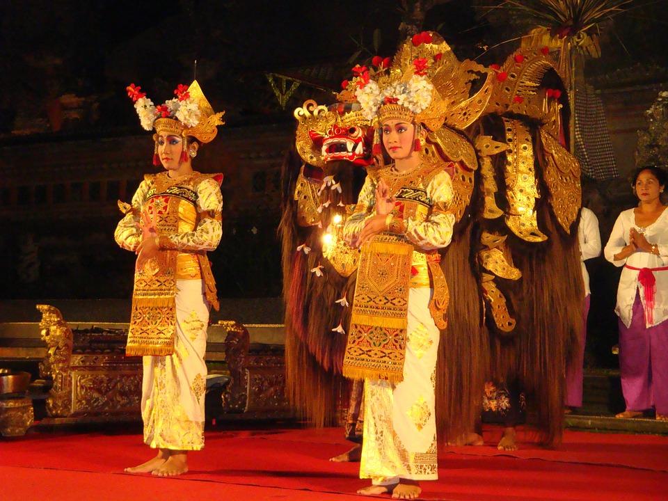 dancers, bali, indonesia