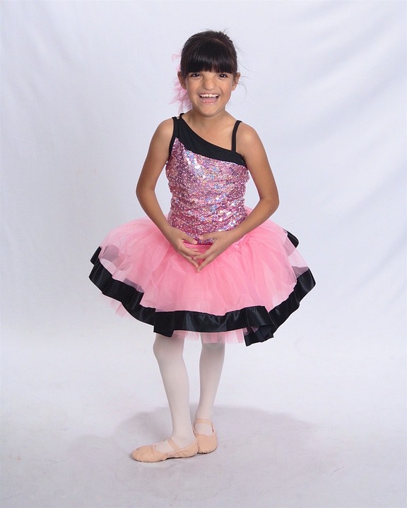dancer, child, happy