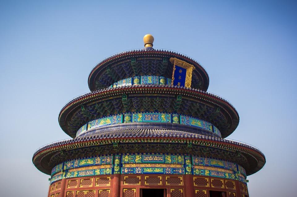 temple, asia, pagoda