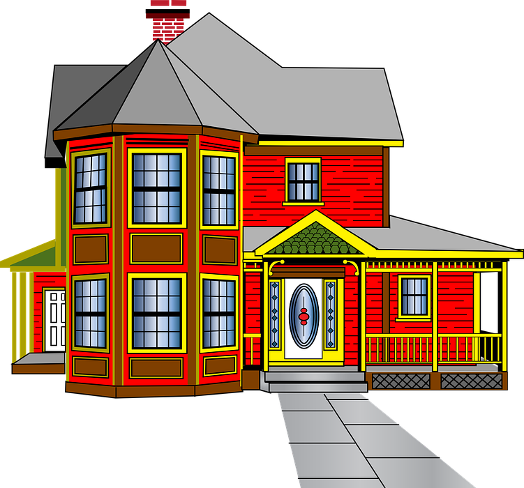 house, colonial, architecture