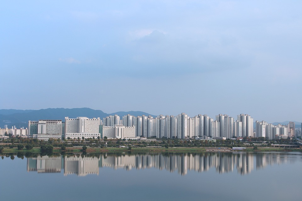 korea, han river, seoul