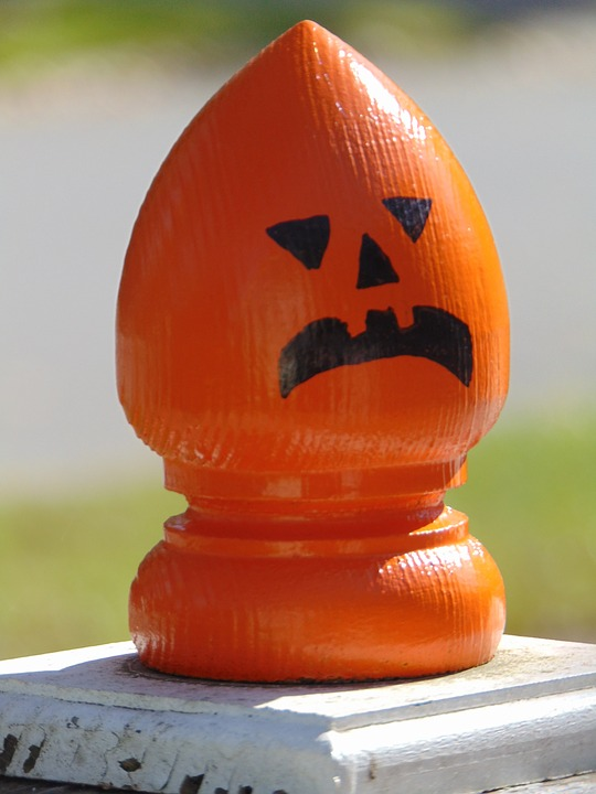 angry, pumpkin, pumpkin head