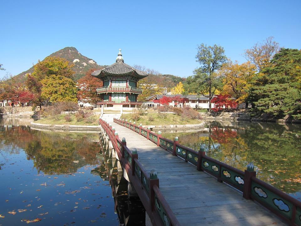 korea, seoul, garden