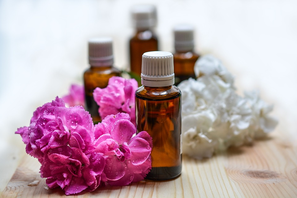 essential oils, aromatherapy, spa