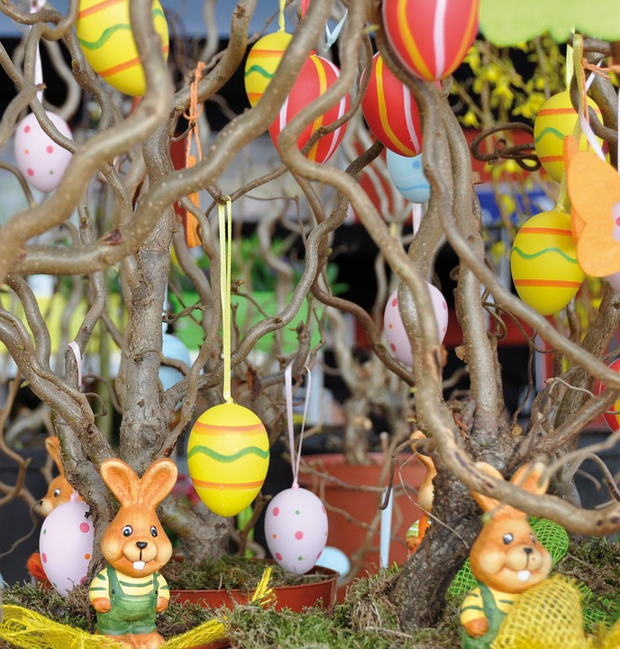 easter, easter decoration, easter bunny