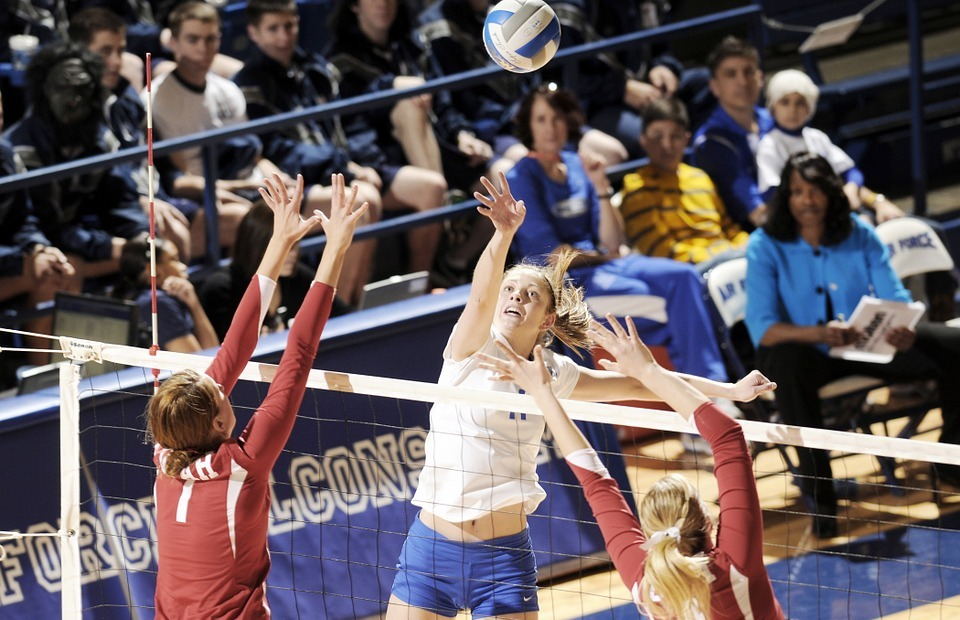 volleyball, sports, net