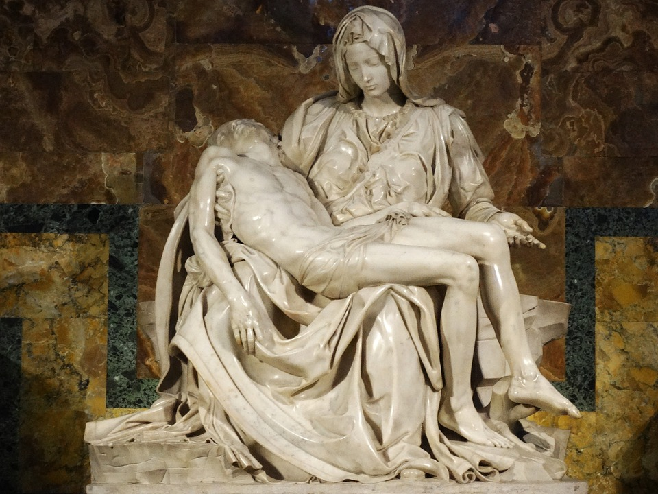 sculpture, jesus christ, louvre