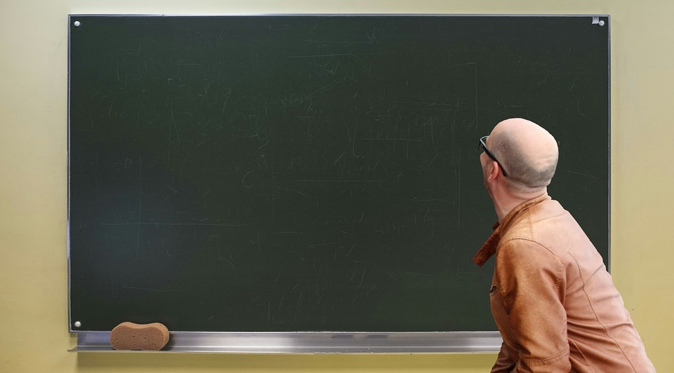 economics, class room, teacher