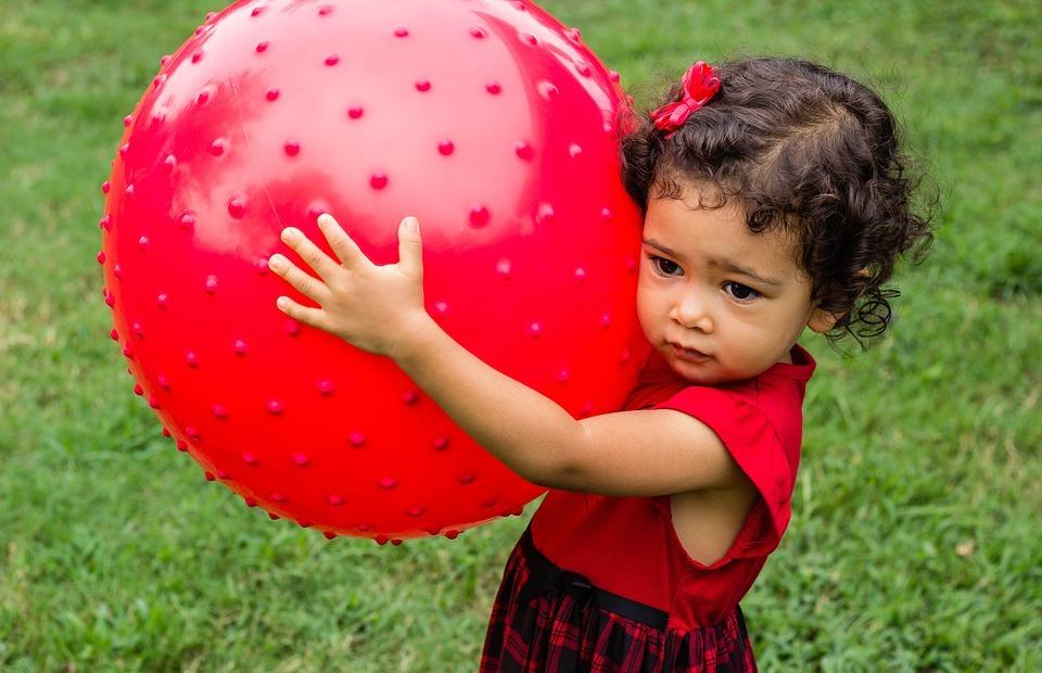 baby, ball, huge