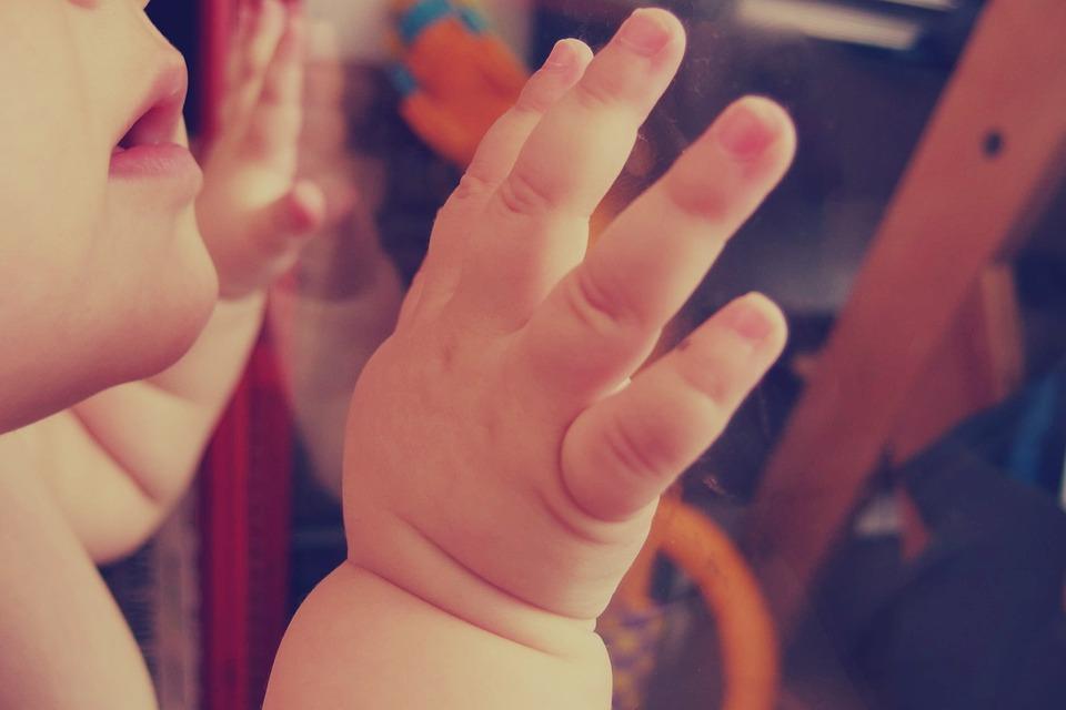 baby, child, hands