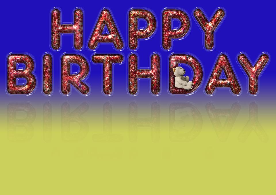 birthday, background, happy birthday