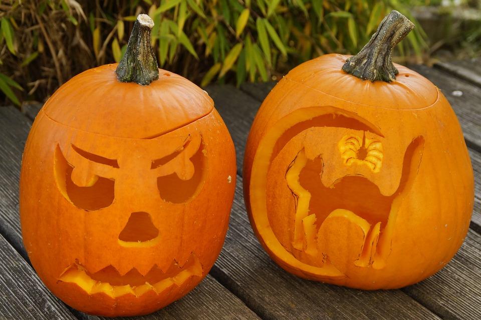 pumpkin, halloween, autumn