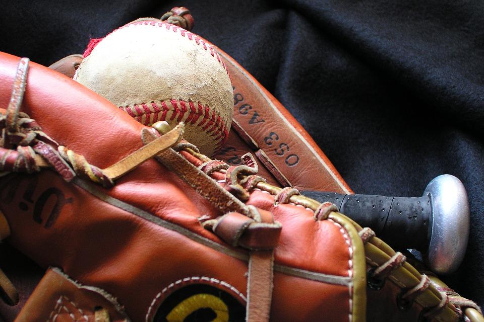 baseball, baseball mit, glove