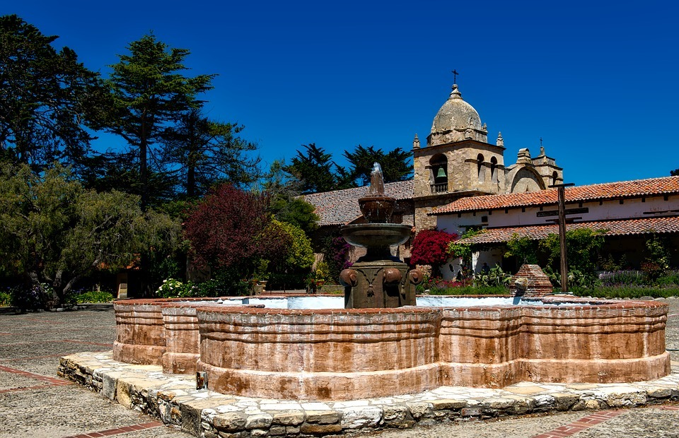 carmel mission, california, catholic