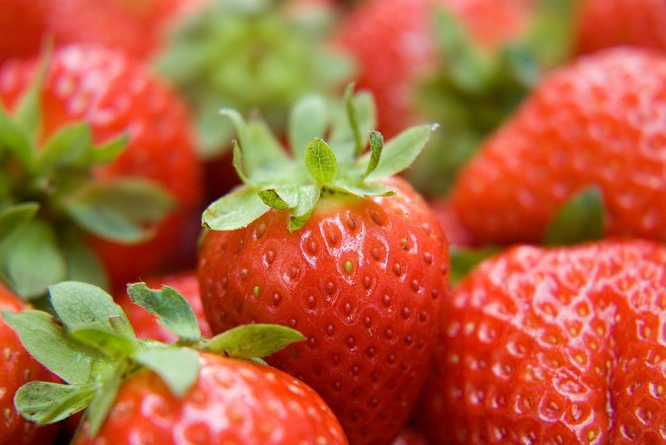 strawberry, fruit, health