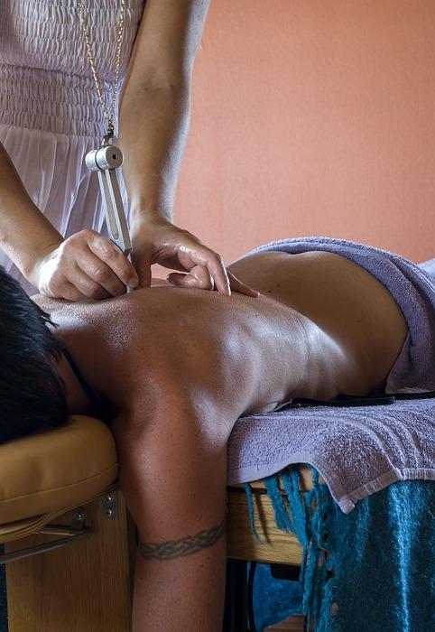 wellness, massage, tuning fork