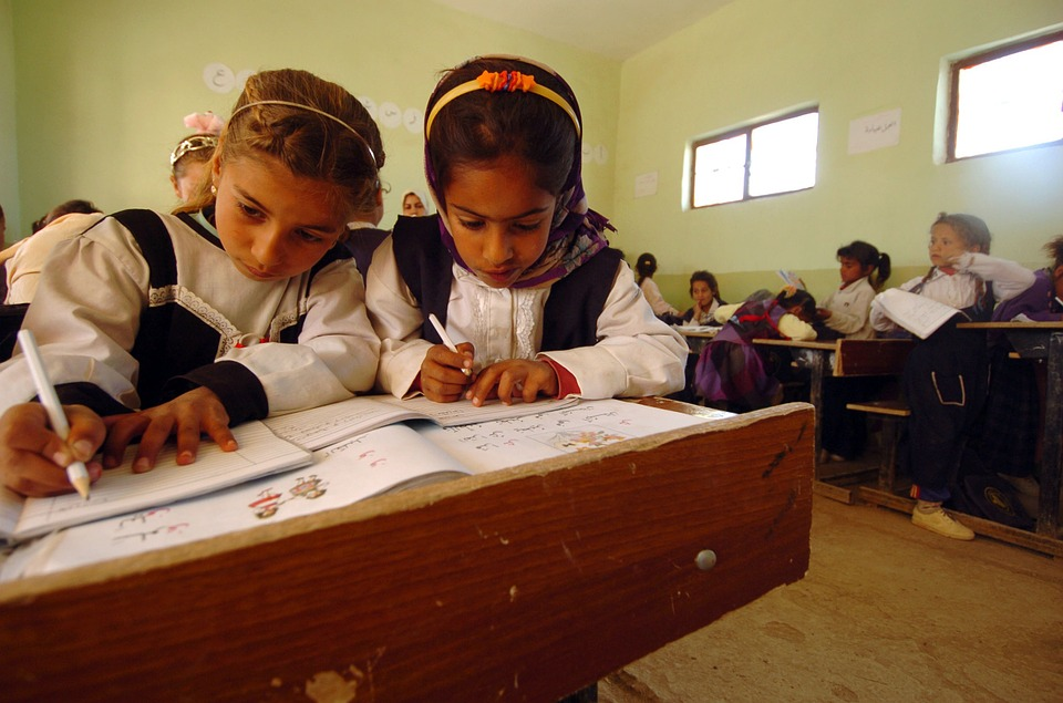 iraq, children, school