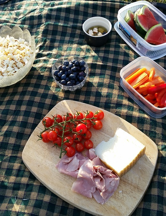 picnic, food, lunch