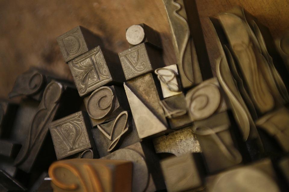 typography, catholic, letters