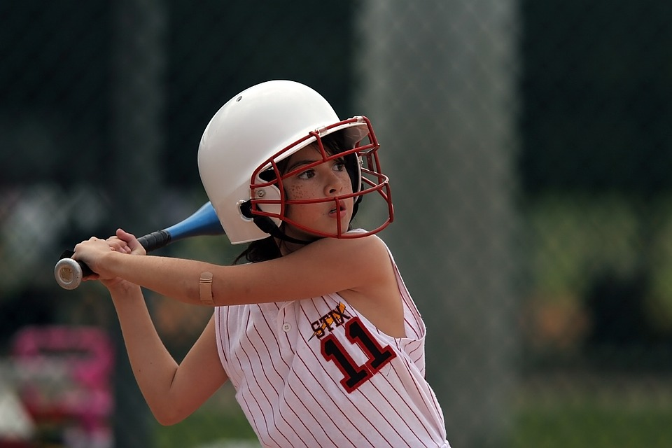 softball, batter, player