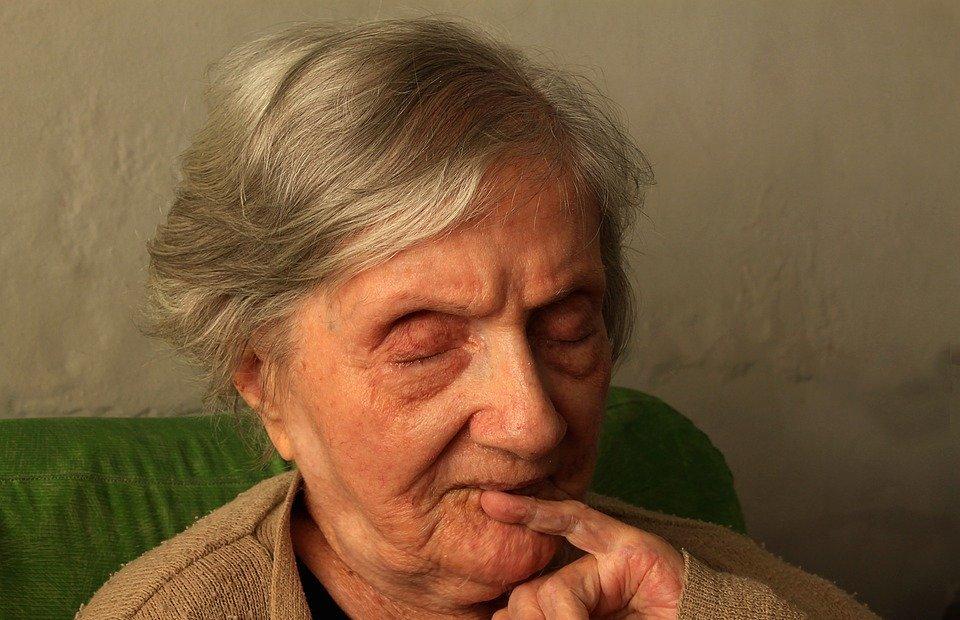 grandma, elderly woman, age