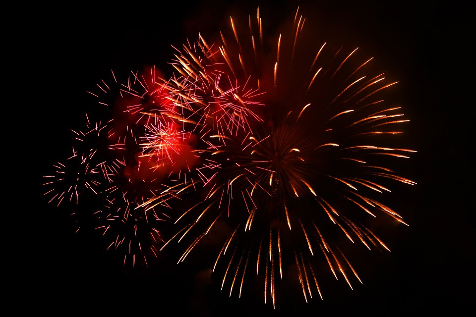 fireworks, celebrate, new year\'s eve