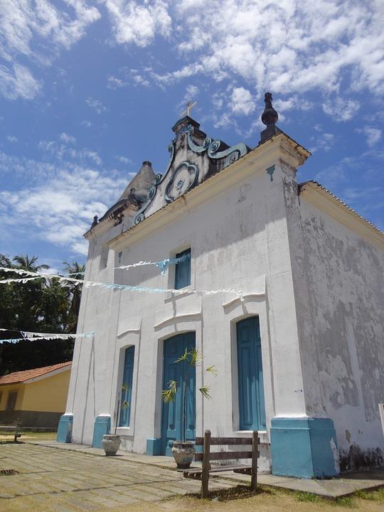 church, baroque, brazil