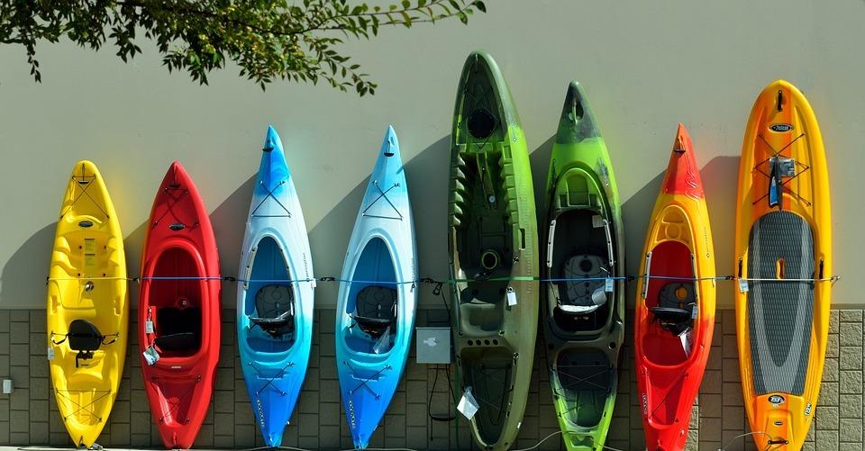 colorful, kayaks, for sale