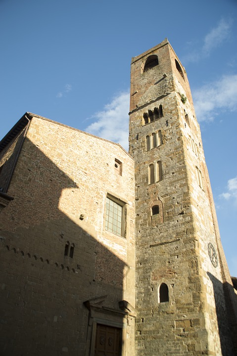 campanile, church, catholic