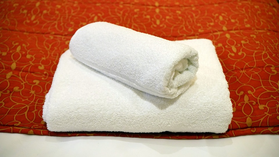towel, white, luxury