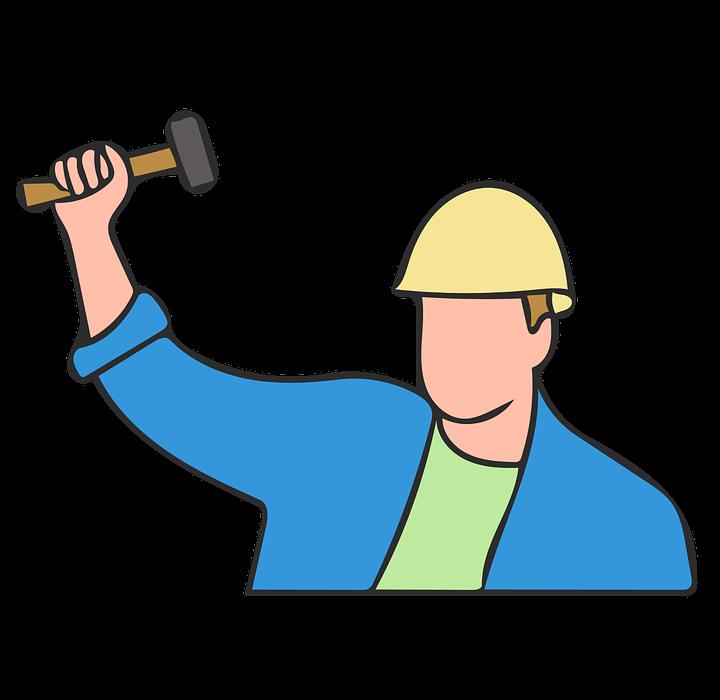 working, hammer, labor day