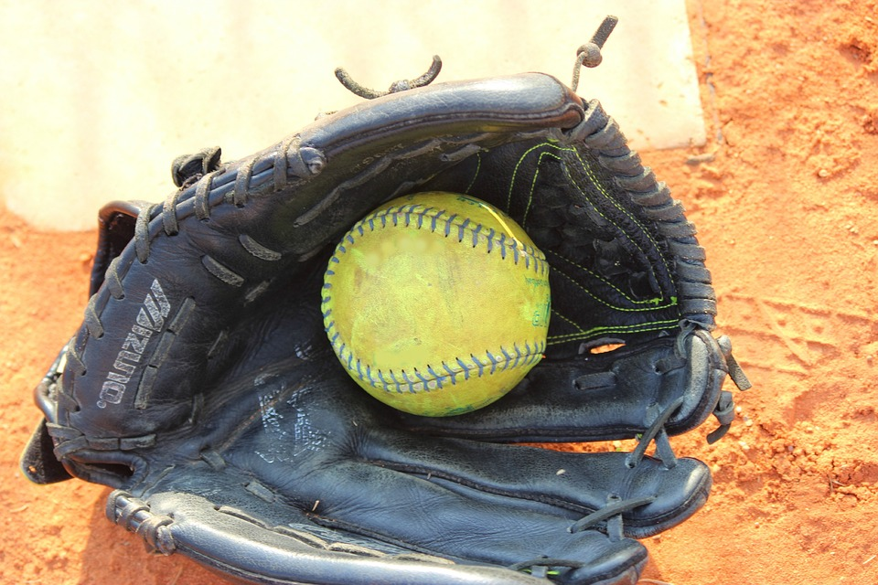 softball, ball, play