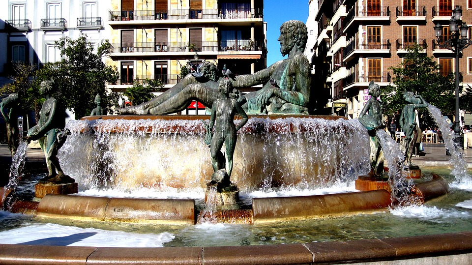 fountain, turia, place of the virgin