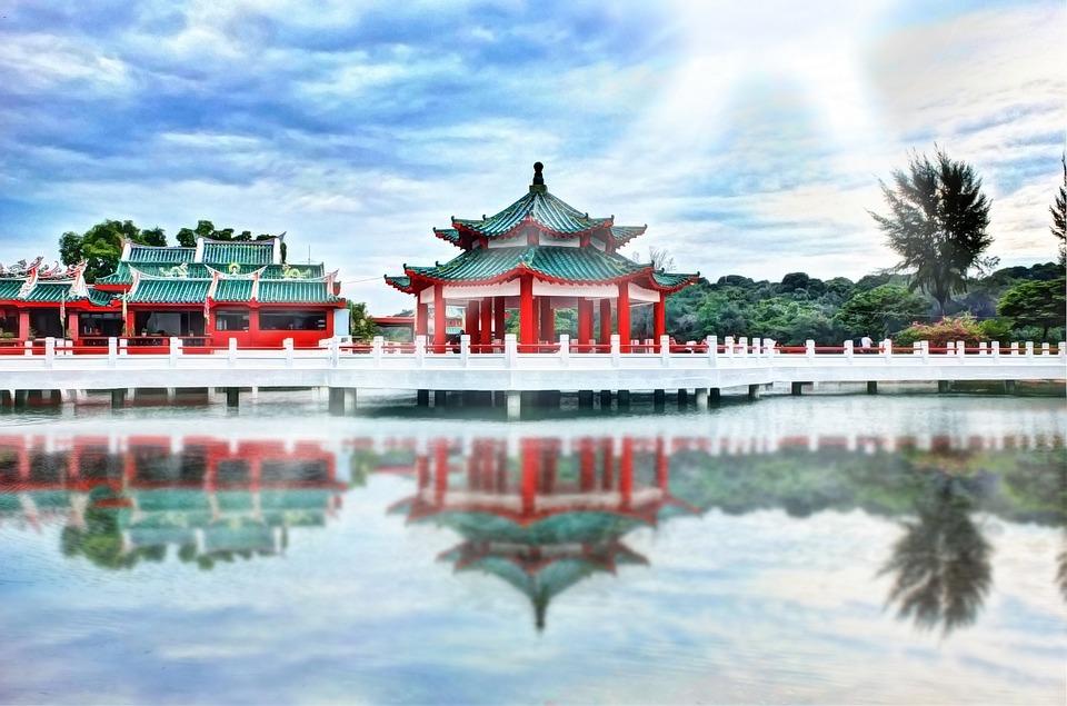 asian, temple, culture