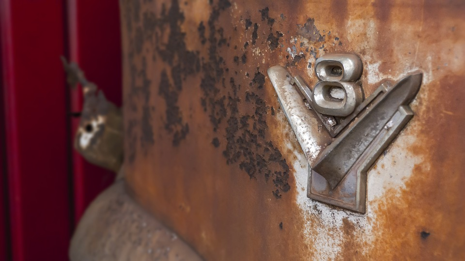 car, rust, old