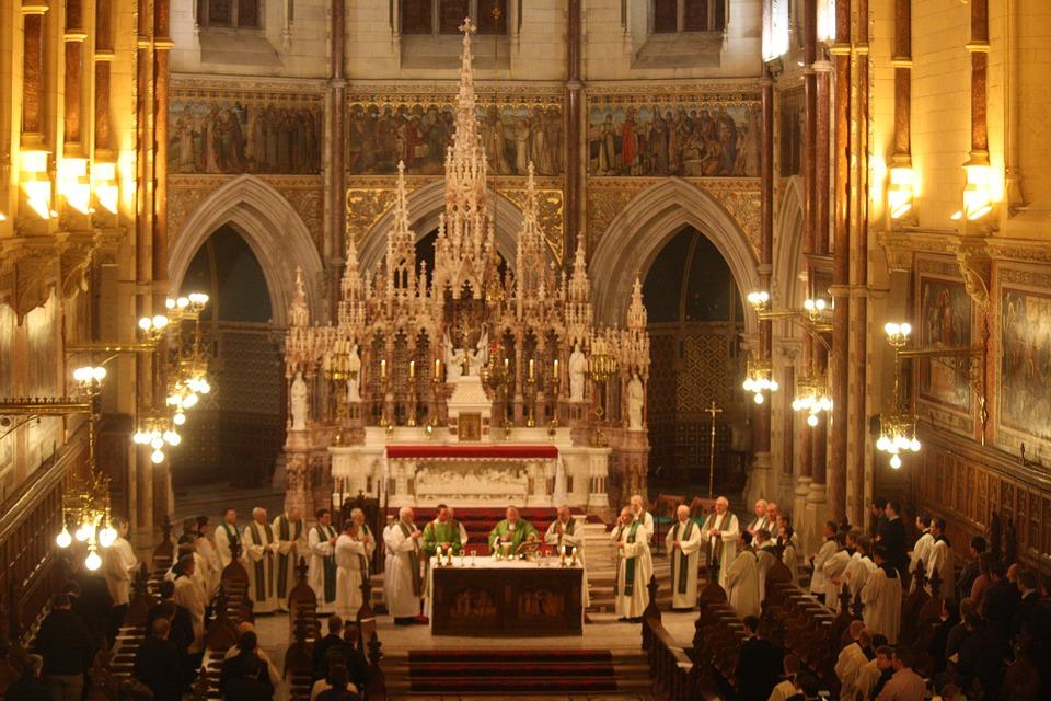 irish seminary mass, catholic mass celebration, liturgical celebration