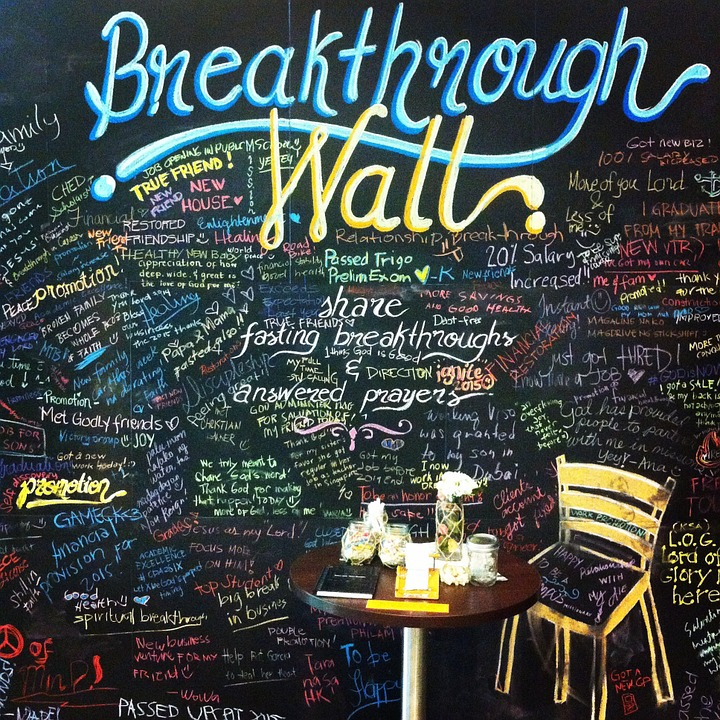 breakthrough, wall, prayer