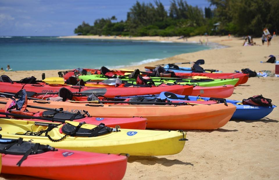 kayak, boat, water