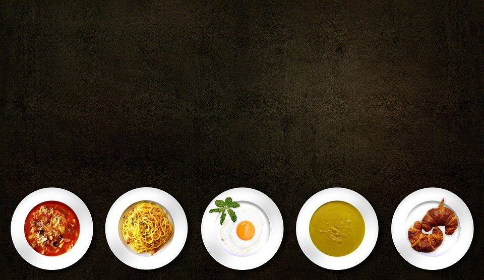 food, dishes, meal