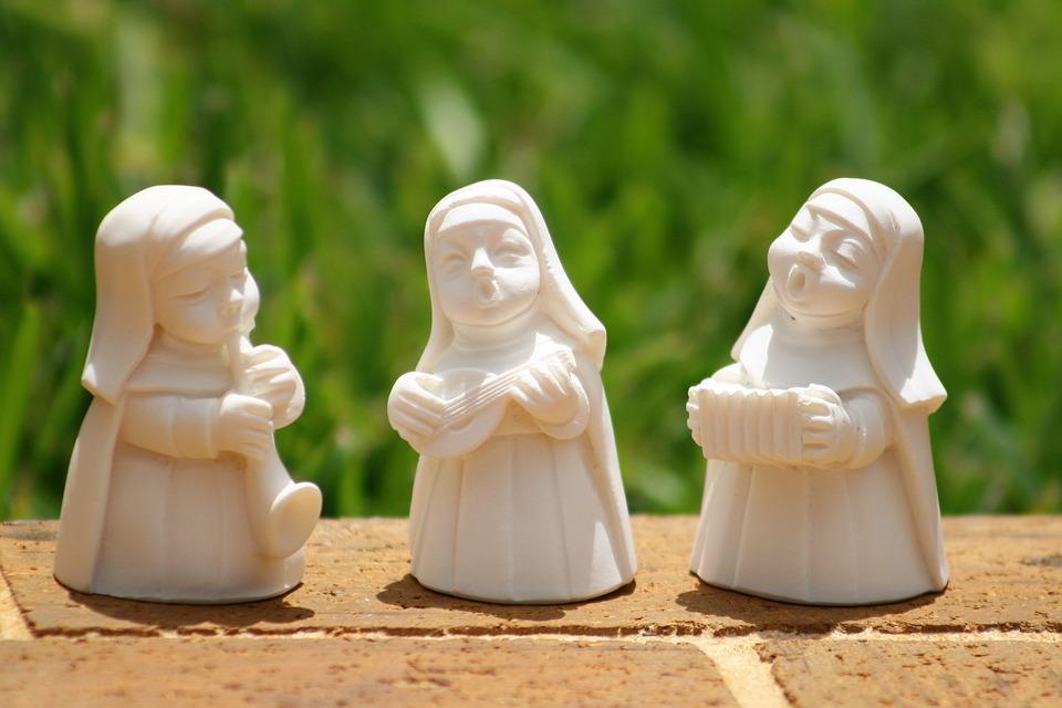 the nun band, playing nuns, catholic