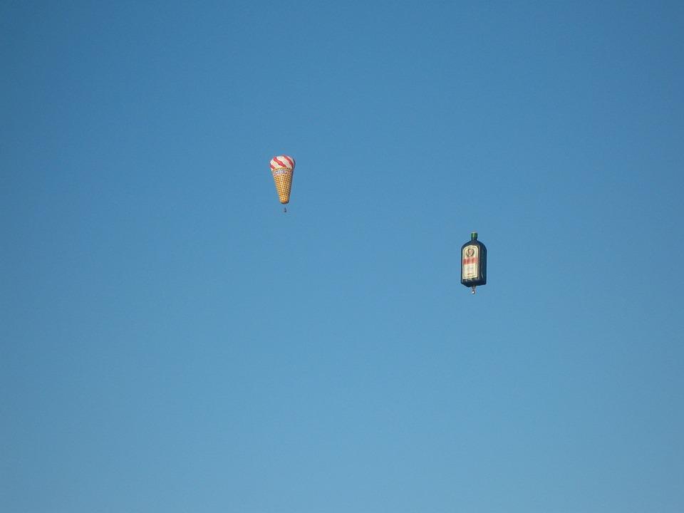 hot air balloon, air sports, fly