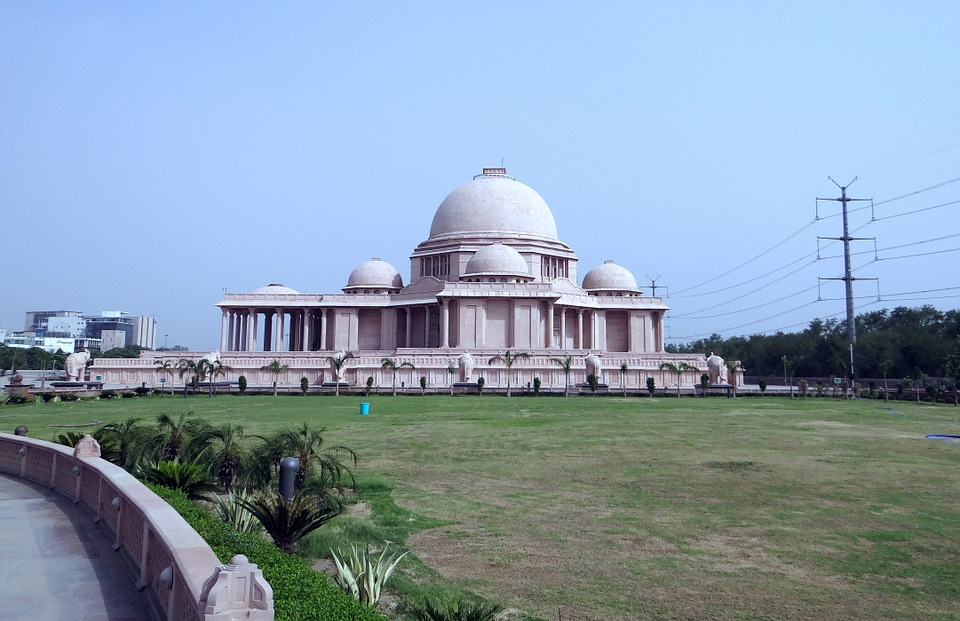 dalit prerna sthal, memorial, sandstone