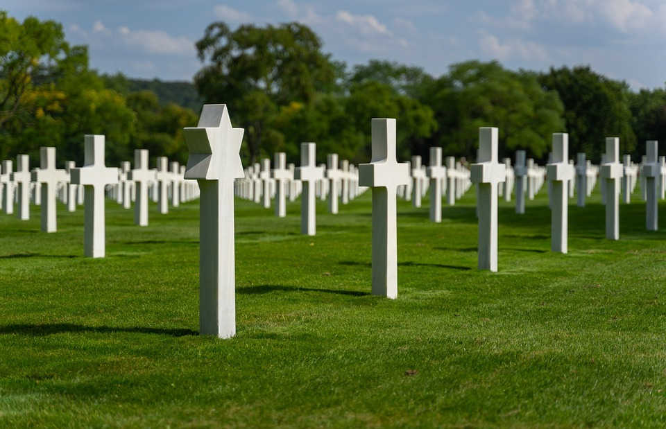 cemetery, american, war