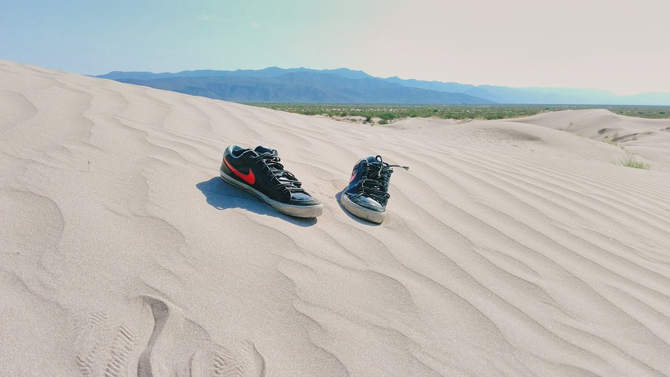 tennis, shoes, desert
