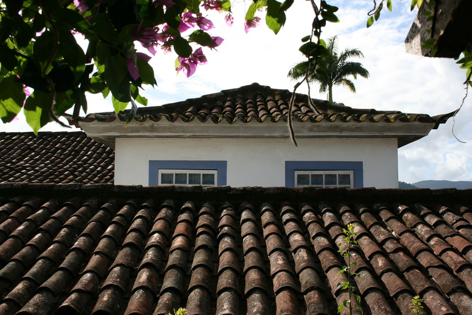 roofs, colonial architecture, paraty