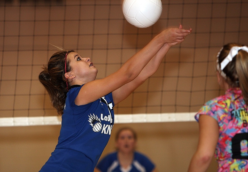 volleyball, female, volley