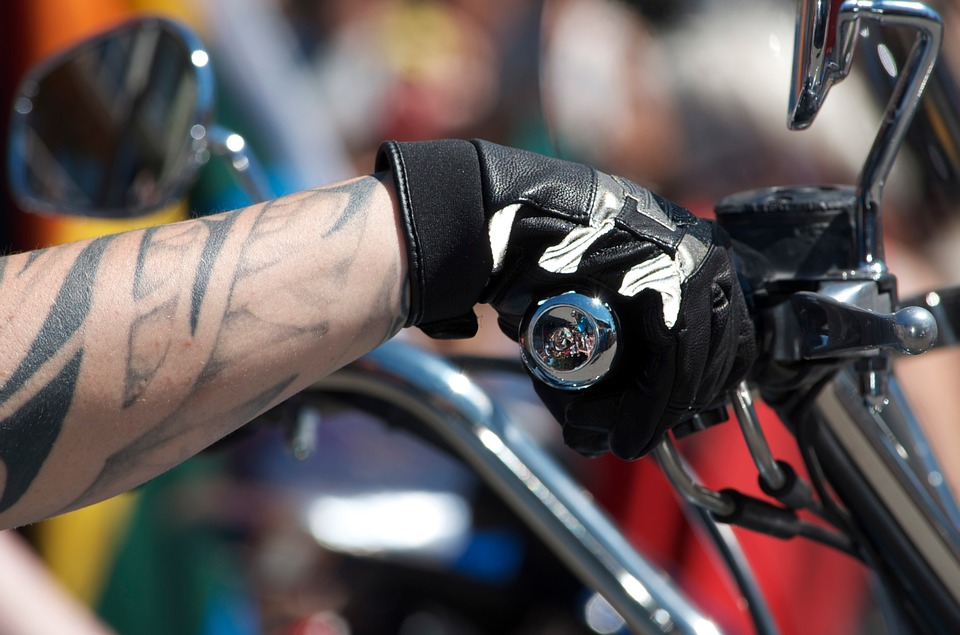 motorcycling, hand, gas