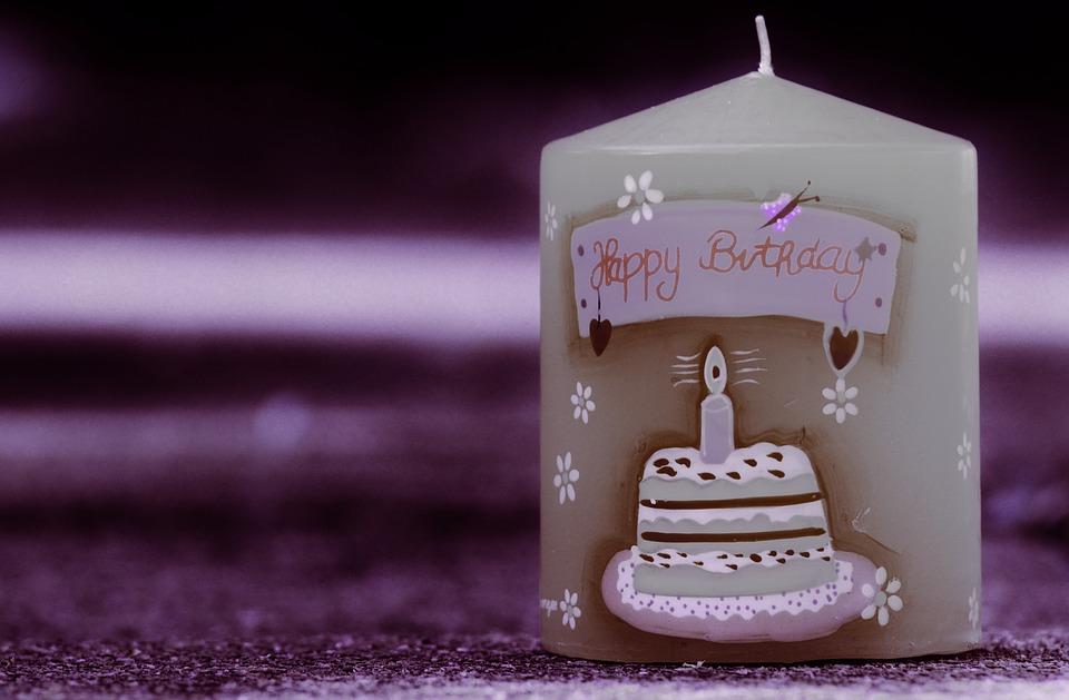 birthday, candle, happy birthday