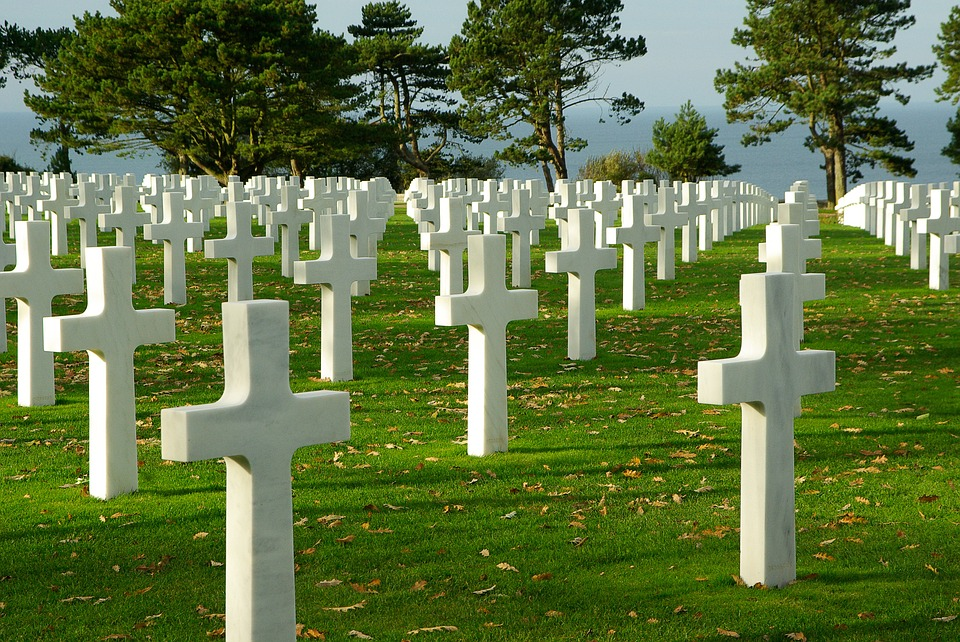 normandy, d day, cemetery