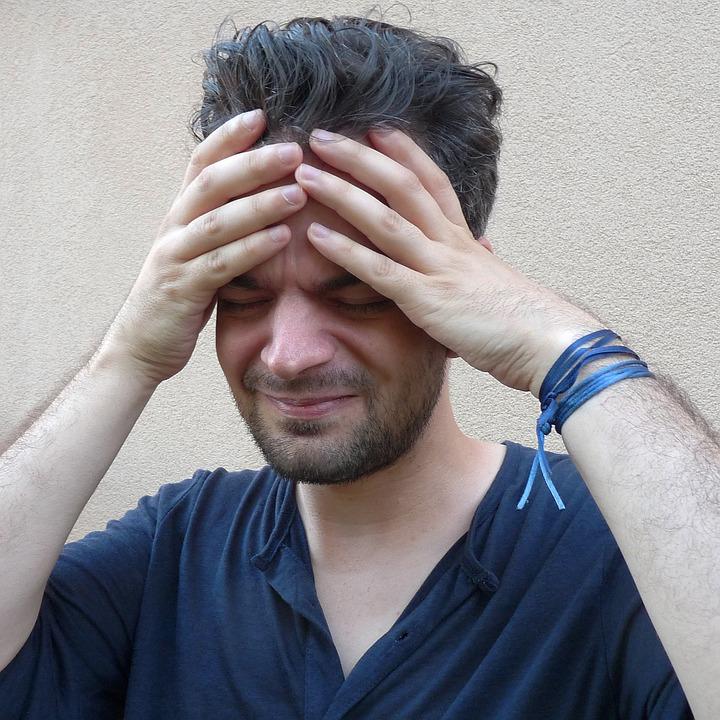 headache, image, man